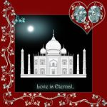 Love is eternal-Taj Mahal by Misty-Lane