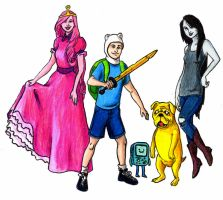 ADVENTURE TIME by Mbecks14