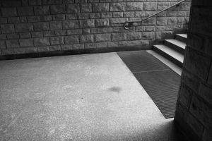 metro stairs by senner