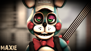 Some Hot Toy Bonnie Render by MaxieOfficial
