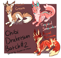 Chibi Draketsun Batch 2 [CLOSED] by Sweet-n-treat