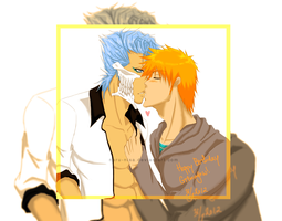 Grimmjow's birthday: I am Your Present by Naru-Nisa