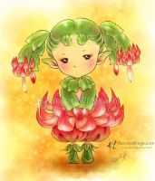 Christmas Cactus Sprite by aruarian-dancer