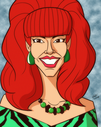 Married with Children: Peggy Bundy by jonathanserrot