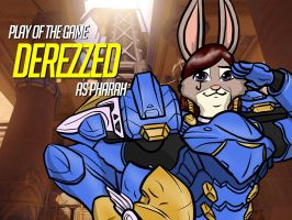 Play of the Game Badge: Derezzed by the-gneech
