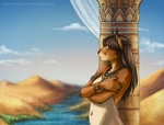 Along the Nile by valentinecrow