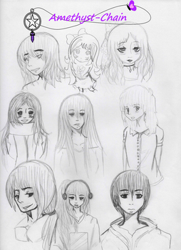 Concept for Characters by Amethyst-Chain