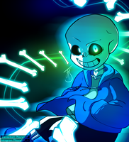 Undertale - Sans Time by Phione538