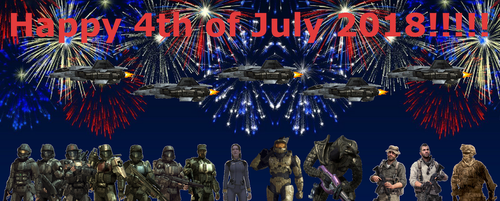 Happy 4th of July 2018! by BeeWinter55