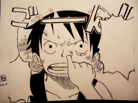 Luffy - I don't care by naldojunio