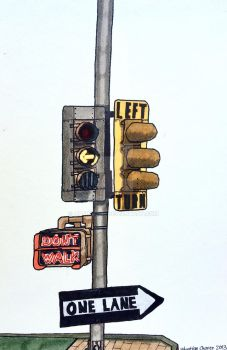 Vintage 8-inch Left turn signals