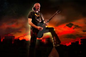 Bruce Kulick Red Sky by Keith-Killer