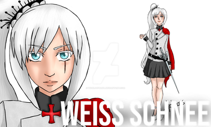 Weiss Schnee - The Templar Princess - Concept Art by Worldofbaka