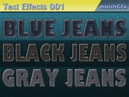 Jeans Text Effects by muish