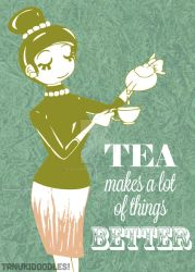 Tea Makes a lot of things better by ksolaris