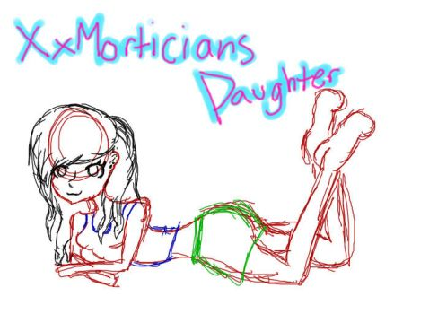 Xxmorticiansdaughter sketch by punkgirl73mw