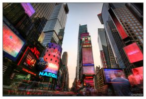 Times Square 4 by DennisChunga