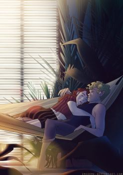 lazy summer afternoon by emedeme