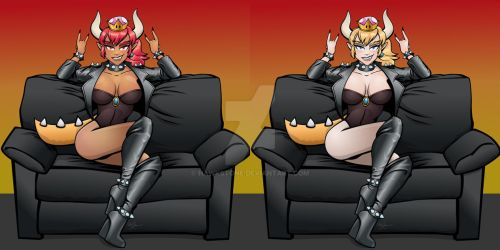 Bowsette by Hawkstone