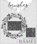 Brushes pack #3 - Frames by elysgraphic