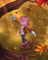 First Day of Autumn by SonicWind-01