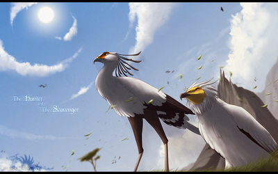 ++ The Hunter, and the Scavenger ++ by SinisterEternity