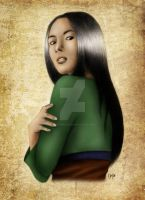 Fa Mulan in Color by madmoiselleclau