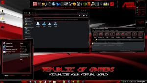 ROG Tweak Theme ( Clash Of The Titans 6 ) Limited by Toadyshadow101