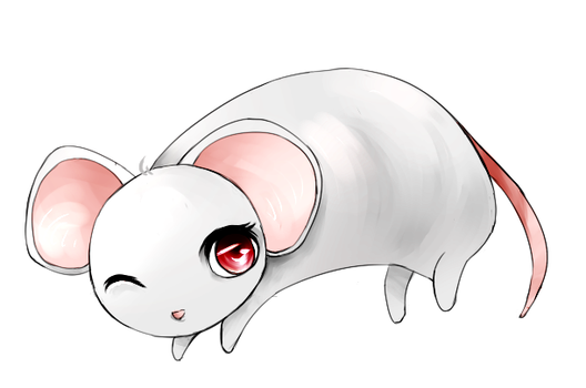 Mousey by snowshore