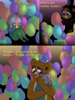 Fnaf silly comic - Foxys Pride 31 by Maria-Ben