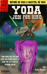 Yoda Jedi for hire by Kyohazard