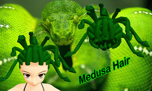 Medusa Hair DL by ninjapirate10194