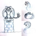 TigerSwan concept sketches by Diana-Huang