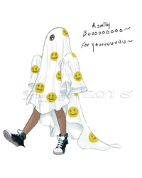 1. ghost - A smiley Boo for You by BossyGirl
