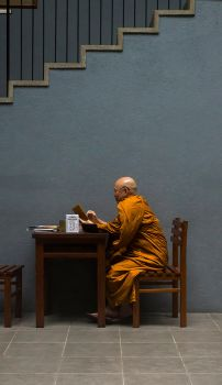 Posh Monk by InayatShah