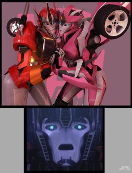 Wanna Join Us Optimus ? by JPL-Animation