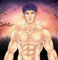 Ike in the sunset by Prince-Stephen