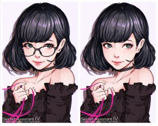 Secret Assistant IV by magion02