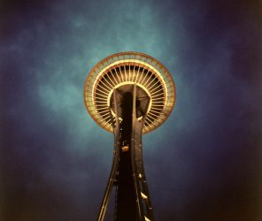 space needle by guost