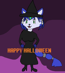 Krystal Halloween by MagiMew