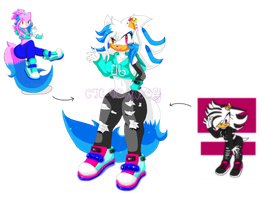 {Art Trade} Carerin And Shadyla Fusion by CTC-Tomboy
