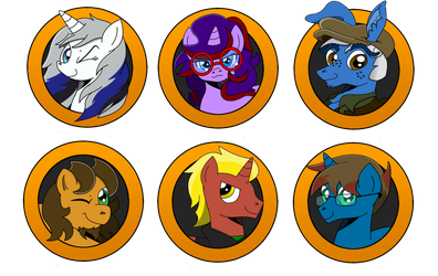 Brony Badge set 19 by DBurch01