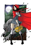 Red Riding Hood by Hodges-Art