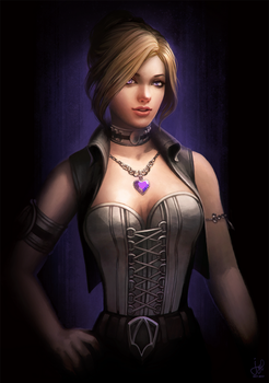 Guild Wars 2 Commission - Fiore Andrea by jylgeartooth