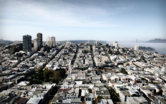 Russian Hill by FletchLives