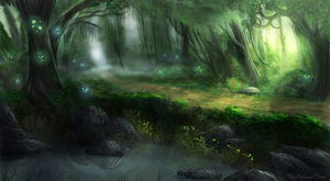 Elven Forest 2 by JKRoots