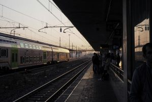 Padova Station. Early morning. Italy by jennystokes