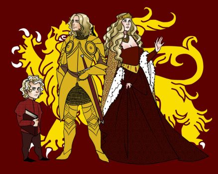 WIP: Lannisters by Arerethousa