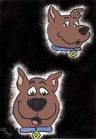 Scrappy Doo portrait by Coolhand-Locke