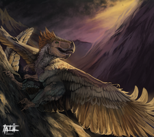 [F-X] Under the shadow of my wings by tatiilange